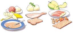 Voedsel zacht-hard